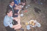 Jehanne fête son anniversaire au retour d'explo