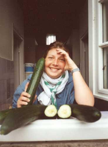 Baloo et ses concombres : comment ne pas devenir folle avec tant de légumes...
