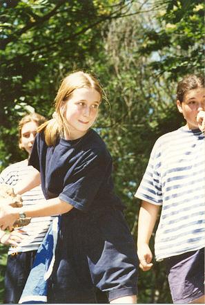 Alix a toujours eu l'âme sportive