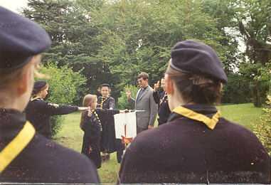 Promesse de Ségo à Viry Châtillon (91), quand elle avait ses cheveux de la Belle au bois dormant !!! (1995)